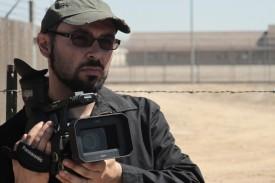 Yoav w camera at prison